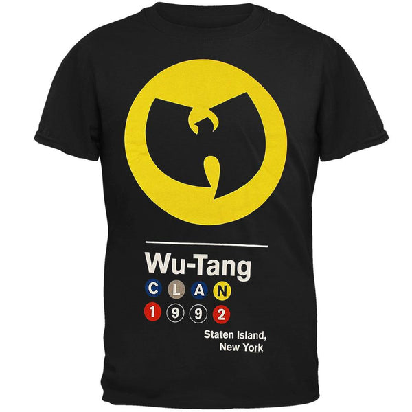 Wu-Tang Clan - Circles 1992 Logo Adult T-Shirt