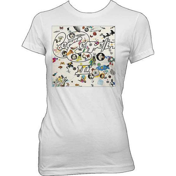 Led Zeppelin - Led Zep III Juniors T-Shirt