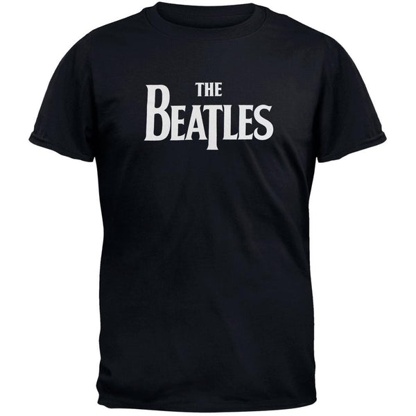 The Beatles - Drop T Logo Adult T-Shirt
