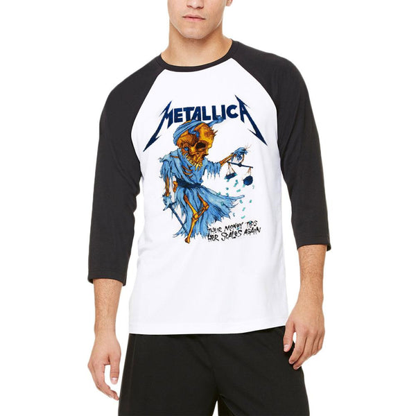 Metallica - Doris Adult Raglan T-Shirt