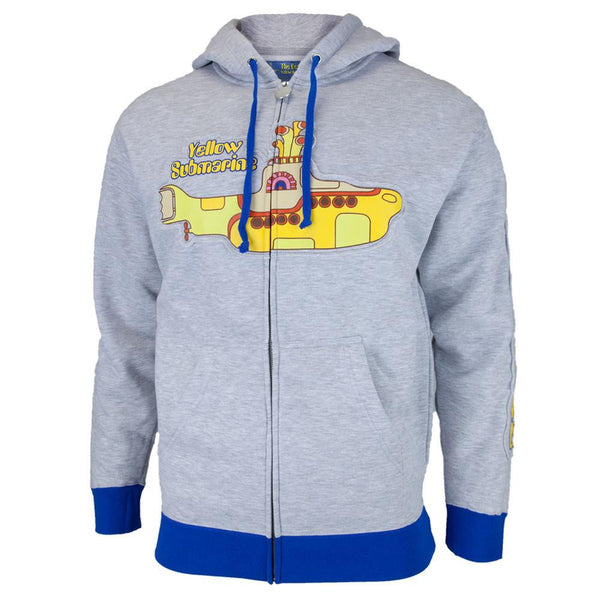 The Beatles - Yellow Sub Adult Zip Hoodie
