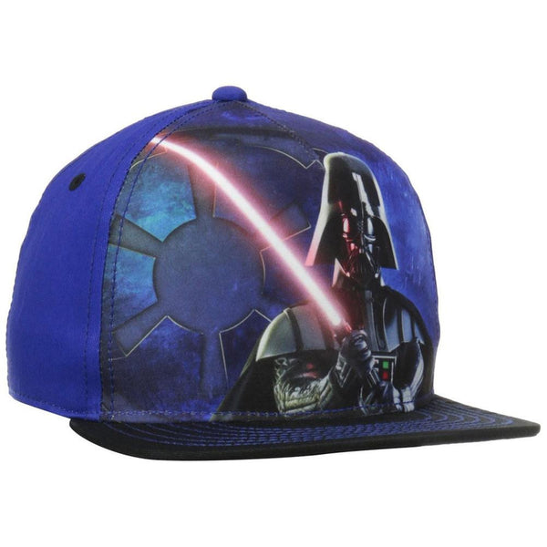 Star Wars - Darth Vader Light Saber Sublimated Youth Snapback Cap