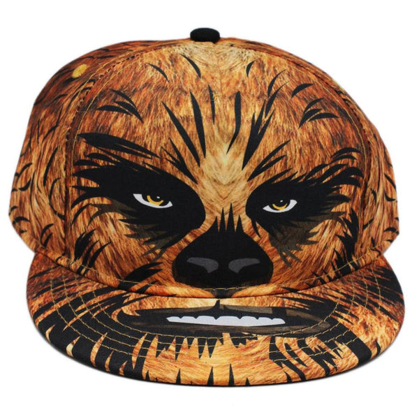 Star Wars - Chewbacca Head Sublimated Youth Snapback Cap