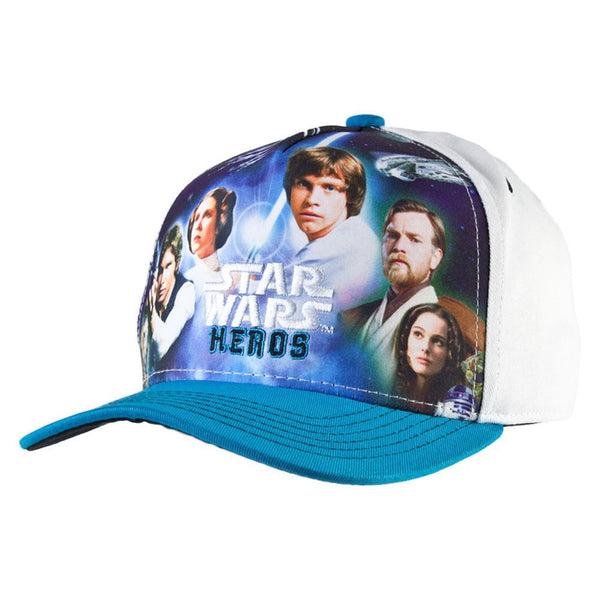 Star Wars - Heroes Collage Kids Adjustable Cap
