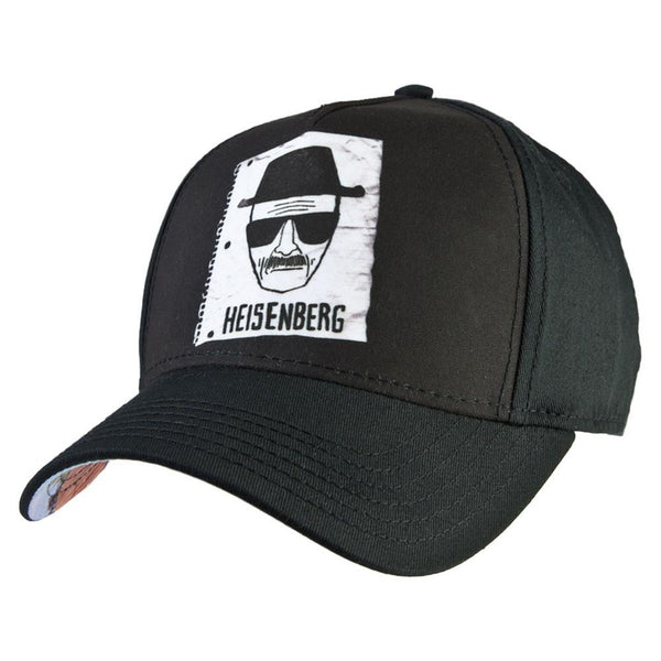 Breaking Bad - Heisenberg Notebook Sketch Fitted Baseball Cap