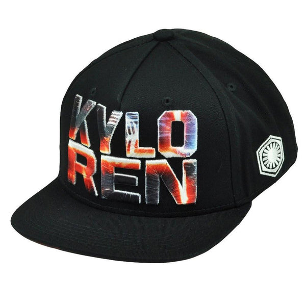 Star Wars - Kylo Ren in Logo Dark Side Youth Snapback Cap
