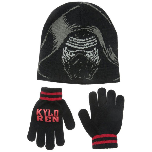 Star Wars - Episode 7 Kylo Ren Youth Beanie and Gloves Set