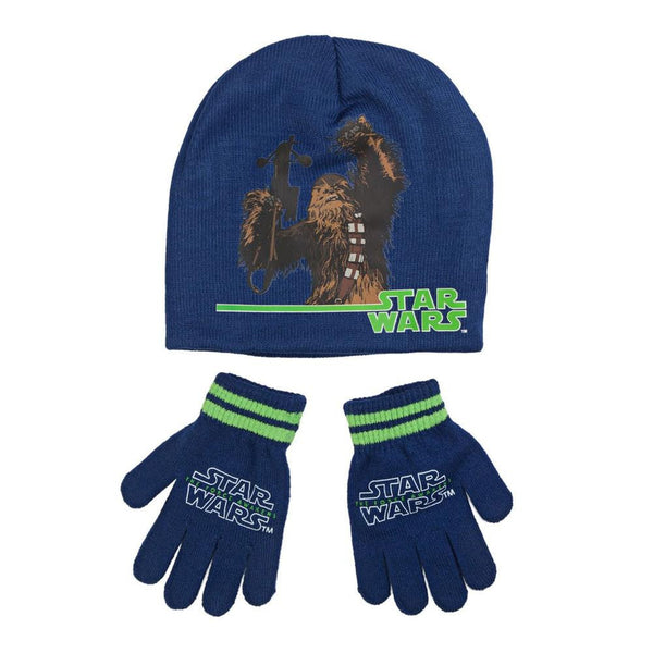 Star Wars - Episode VII Chewbacca Youth Beanie and Gloves Set