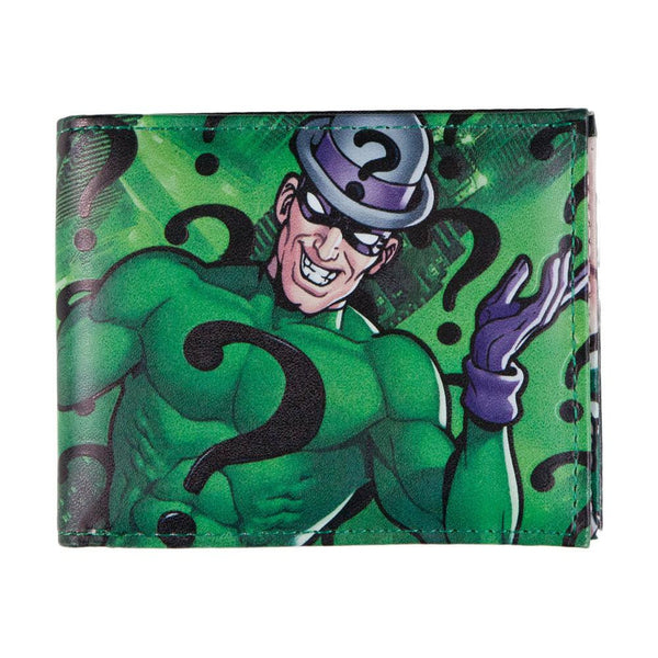 Batman - Riddler Collage Bi-Fold Wallet
