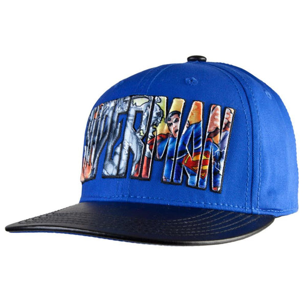 Superman - Action Worlds Snapback Cap