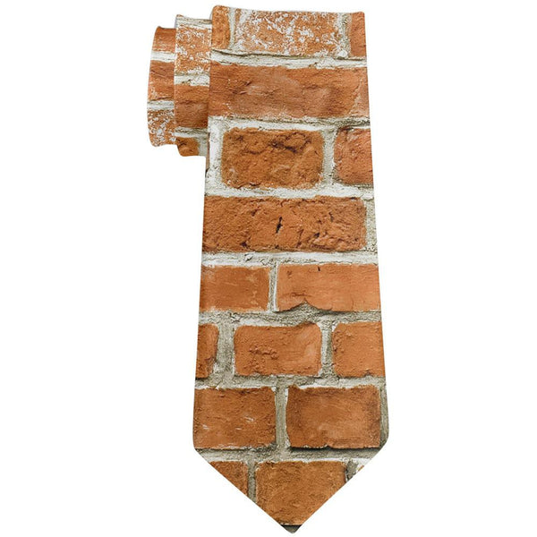 Brick All Over Neck Tie