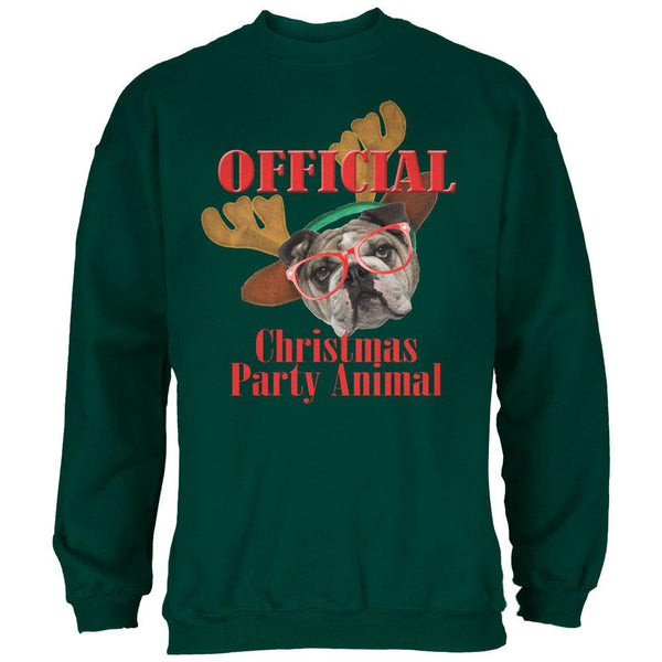 Christmas Party Animal Forest Adult Sweatshirt