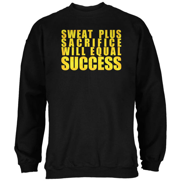 Training Sweat Sacrifice Success Black Adult Sweatshirt