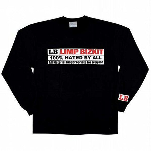 Limp Bizkit - Censor Adult Long Sleeve T-Shirt