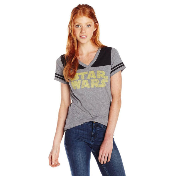 Star Wars - 77 Logo Jersey Juniors T-Shirt
