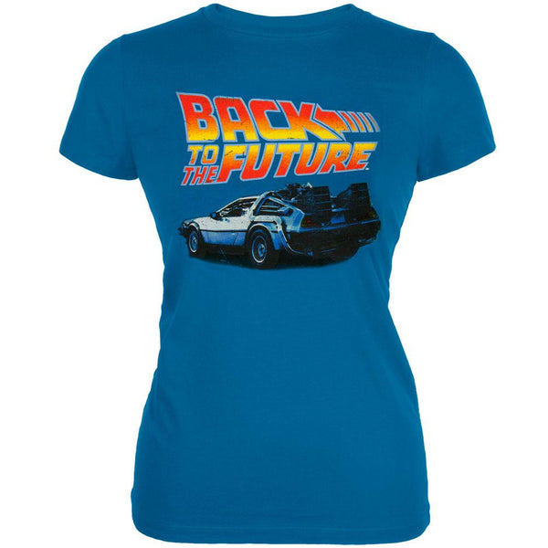 Back to the Future - DeLorean Juniors T-Shirt