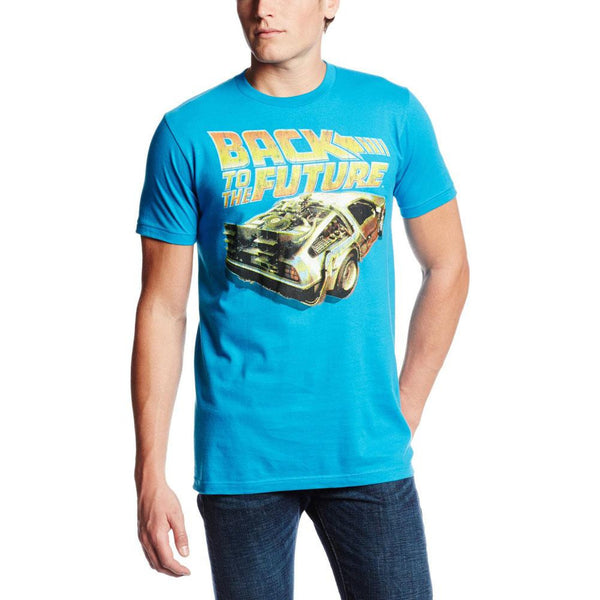 Back to the Future - BTF DeLorean Adult T-Shirt
