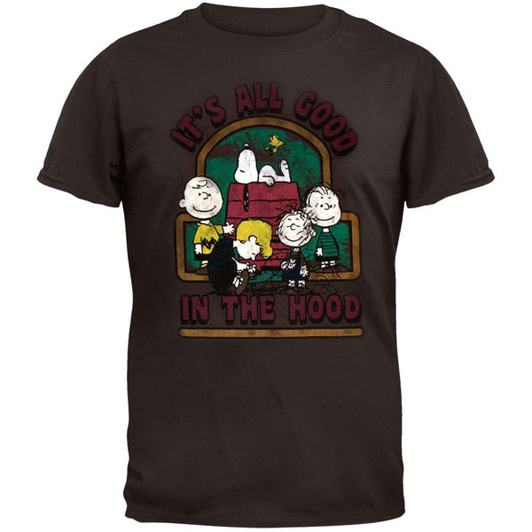 Peanuts - Good in the Hood Adult T-Shirt