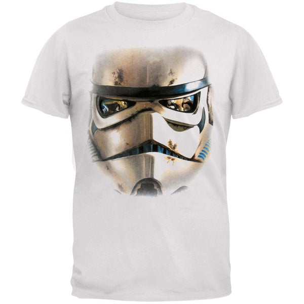Star Wars - Storm Trooper Big Face Adult T-Shirt