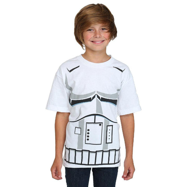 Star Wars - Strom Trooper Costume Youth  T-Shirt
