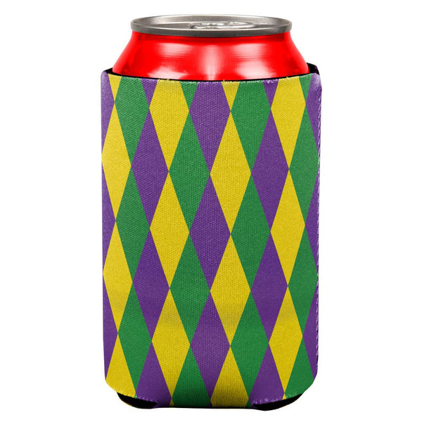 Mardi Gras Jester Costume All Over Can Cooler