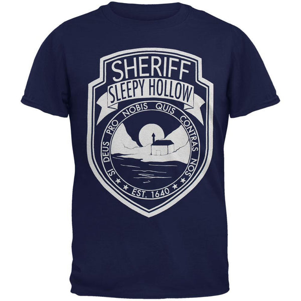 Sleepy Hollow - Sleuthin Badge Adult T-Shirt