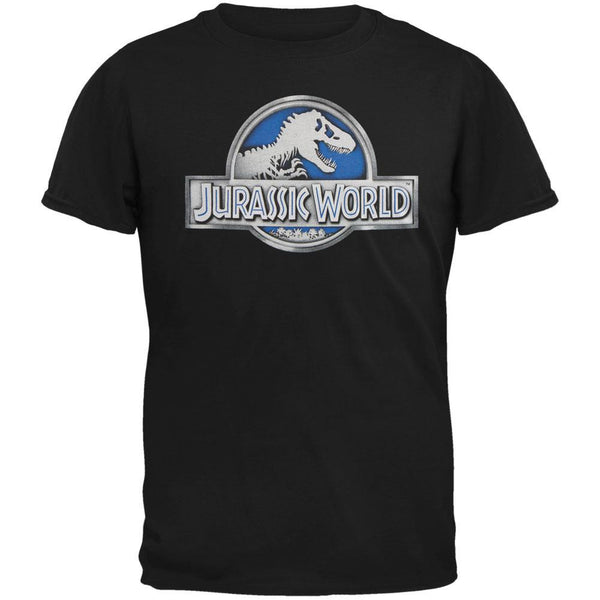 Jurassic World - Basic Logo Adult T-Shirt