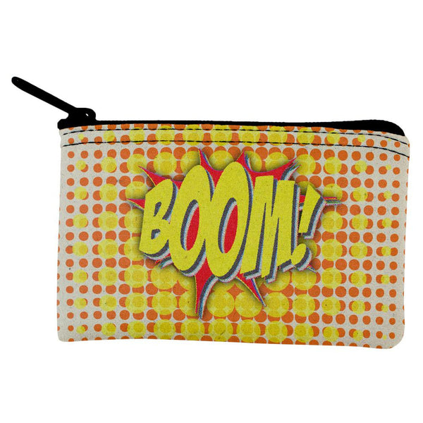 Comic Book Con Boom Coin Purse