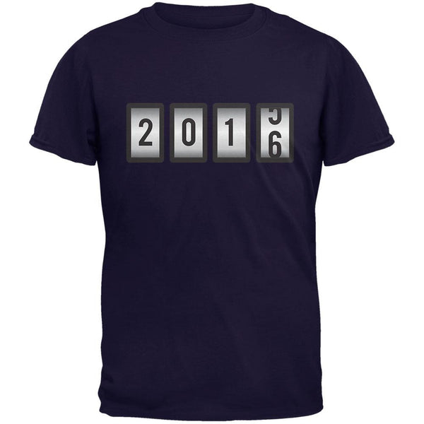 New Years 2016 Slots Navy Adult T-Shirt