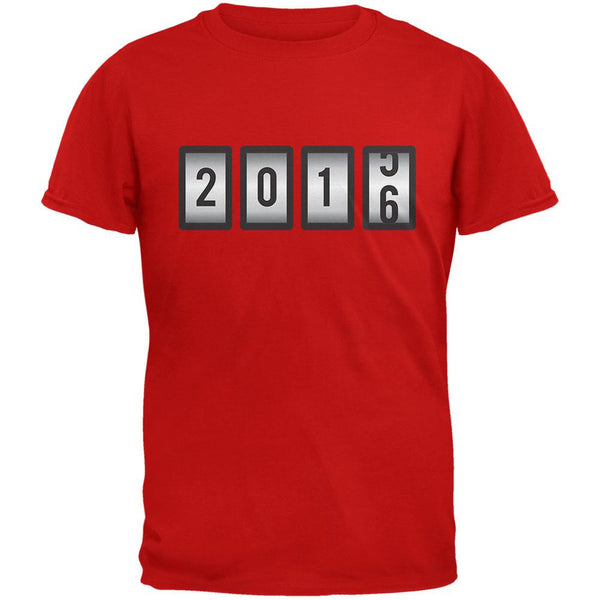 New Years 2016 Slots Red Adult T-Shirt