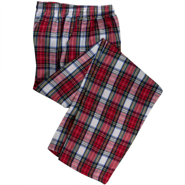 Red Plaid Adult Pajama Pants