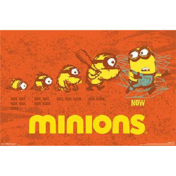 Despicable Me - Minions Evolution 22x34 Standard Wall Art Poster