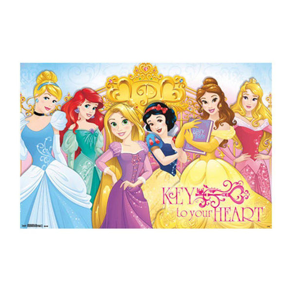 Disney Princesses - Keys 22x34 Standard Wall Art Poster