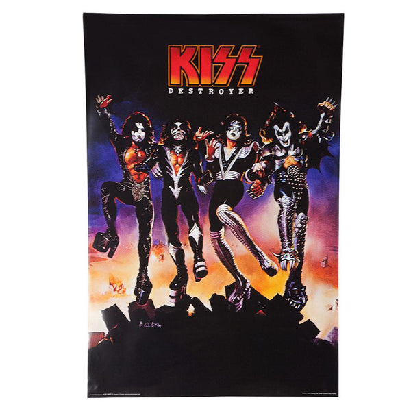 Kiss - Destroyer 24X36 Standard Wall Art Poster