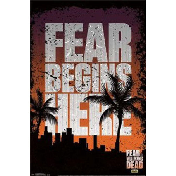 Fear the Walking Dead - Teaser 22x34 Standard Wall Art Poster