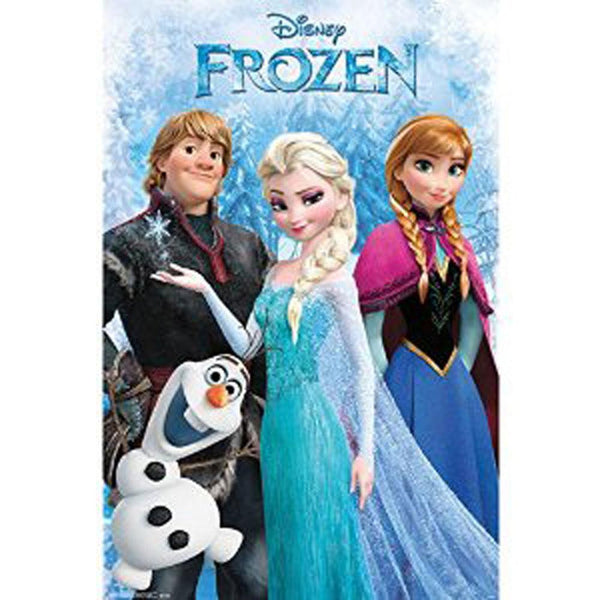 Frozen - Group 22x34 Standard Wall Art Poster