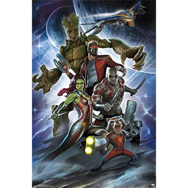 Guardians of the Galaxy - Attack 22x34 Standard Wall Art Poster