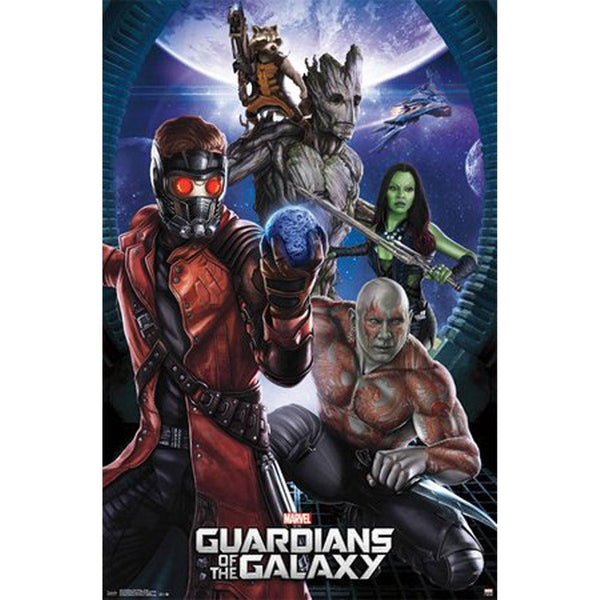 Guardians of the Galaxy - Group 22x34 Standard Wall Art Poster