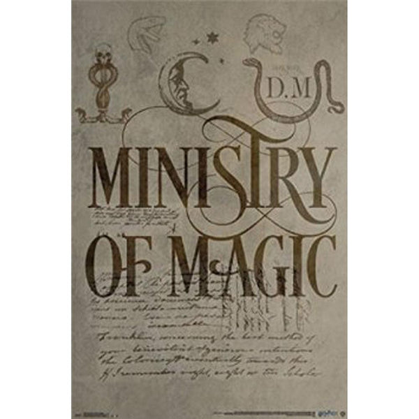 Harry Potter - Ministry of Magic 22x34 Standard Wall Art Poster