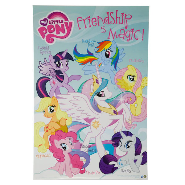My Little Pony - Friendship 24X36 Standard Wall Art Poster