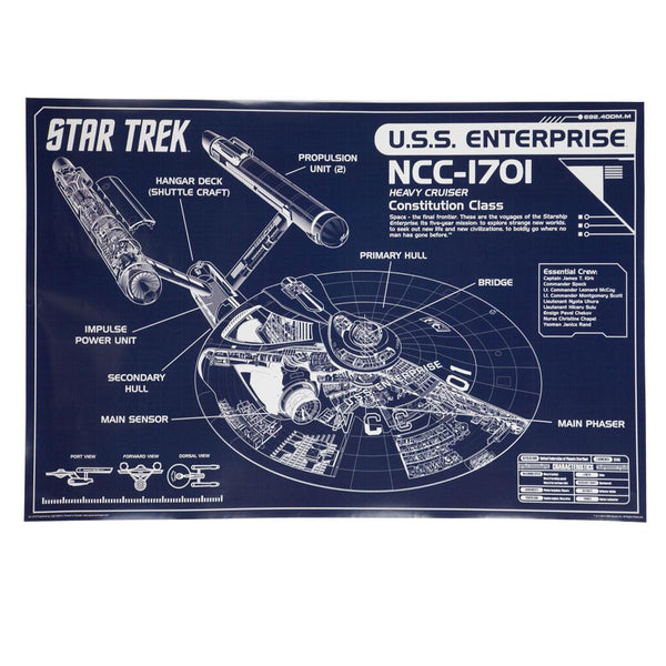 Star Trek - Enterprise 24X36 Standard Wall Art Poster