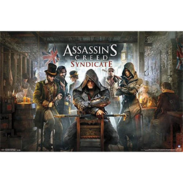 Assassin's Creed - Syndicate Key Art 22x34 Standard Wall Art Poster