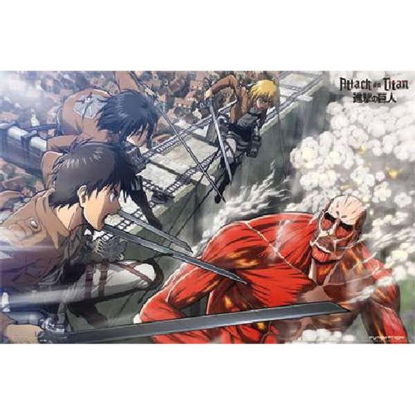 Attack on Titan - Battle 22x34 Standard Wall Art Poster