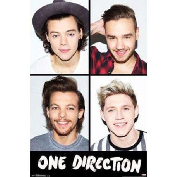 One Direction - Grid 22x34 Standard Wall Art Poster
