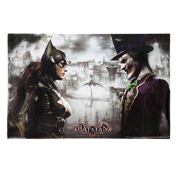 Batman - Arkham Knight Face Off 22x34 Standard Wall Art Poster