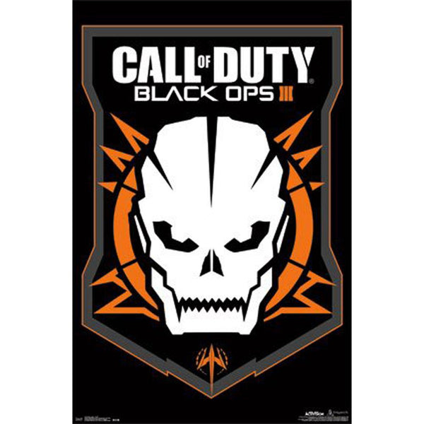 Call of Duty - Black Ops 3 Skull 22x34 Standard Wall Art Poster