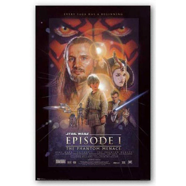 Star Wars - Episode I 22x34 Standard Wall Art Poster
