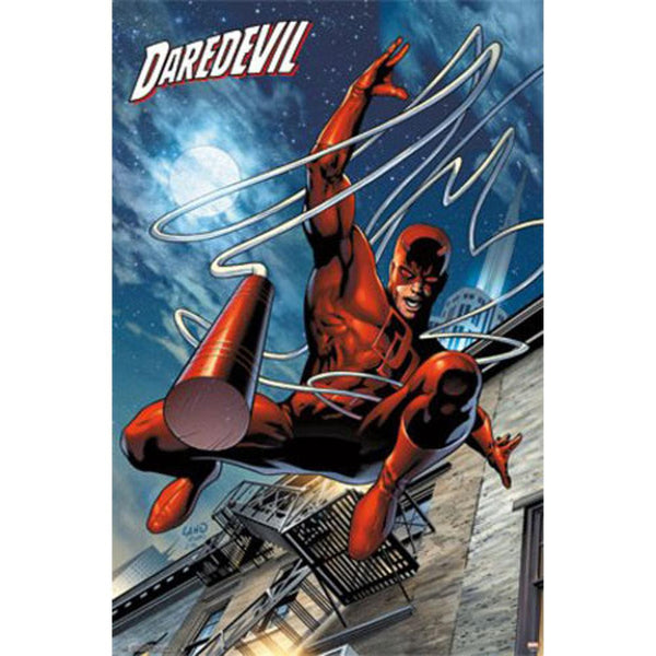 Daredevil - Billy Club 22x34 Standard Wall Art Poster