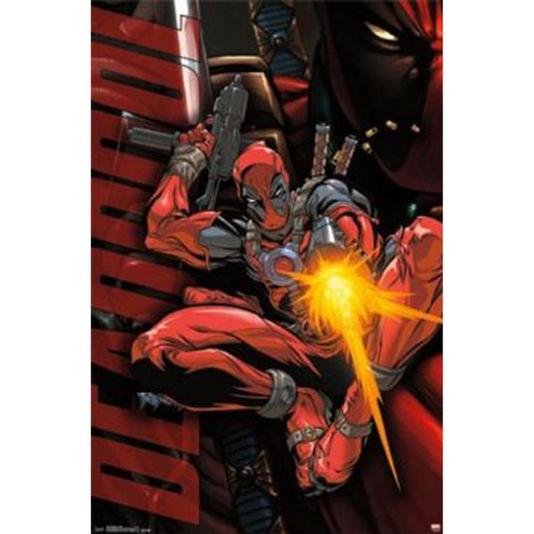 Deadpool - Jump 22x34 Standard Wall Art Poster