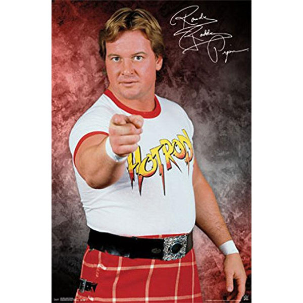 WWE - Rowdy Roddy Piper 22x34 Standard Wall Art Poster